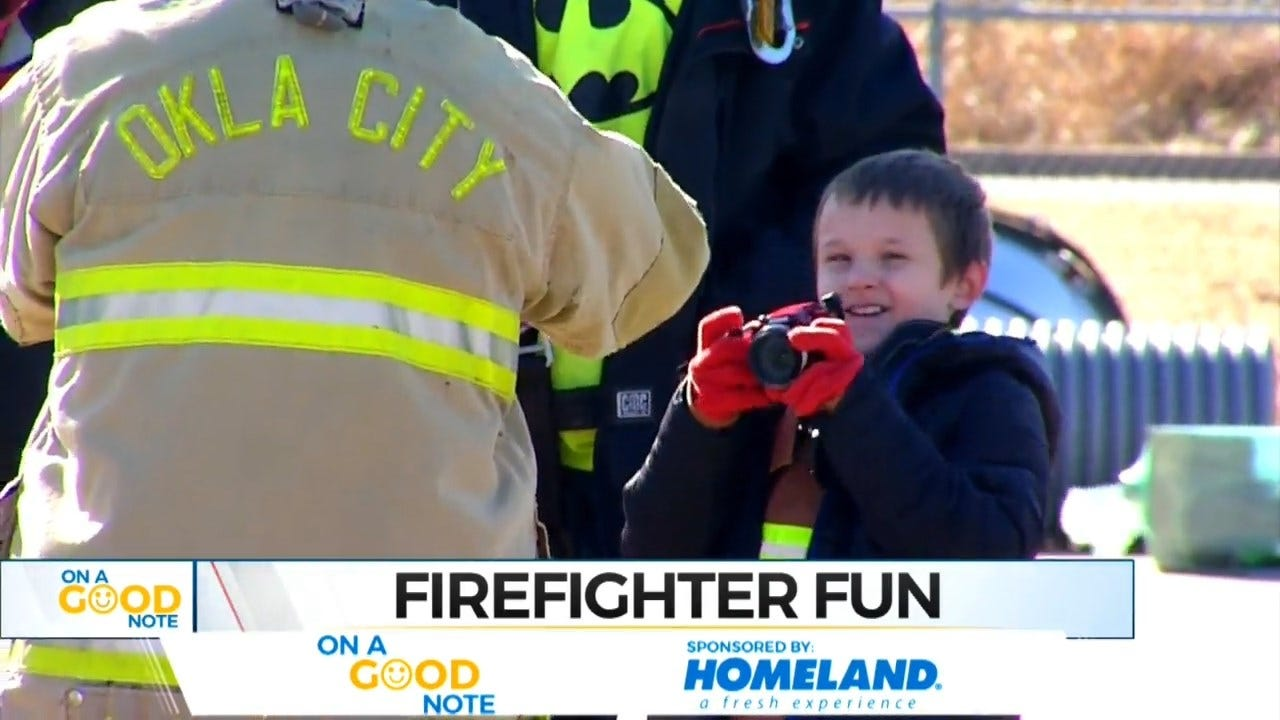 On A Good Note: Special Kids Get To Have Some Special Firefighter Fun