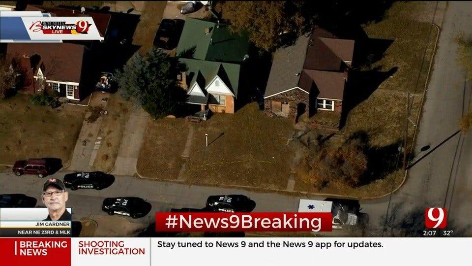 WATCH: Police Investigate Shooting In NE OKC