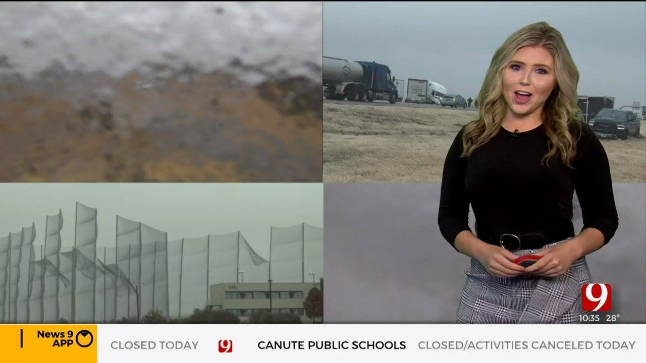 WATCH: Cassie Heiter's Winter Weather Report (10:45 a.m.)