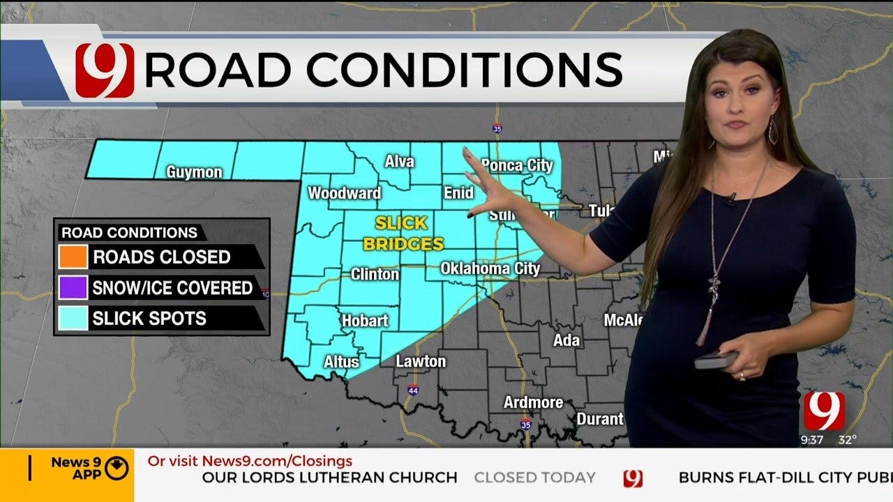 WATCH: Lacey Swope's Winter Weather Report (9:35 a.m.)