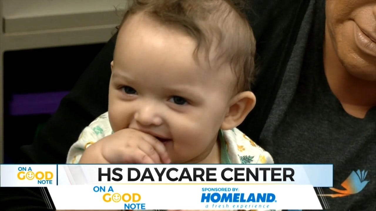On A Good Note: Oklahoma School Provides On-Site Day Care For Parenting Students