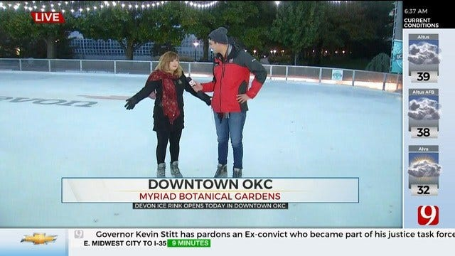 Devon Ice Rink To Open Friday