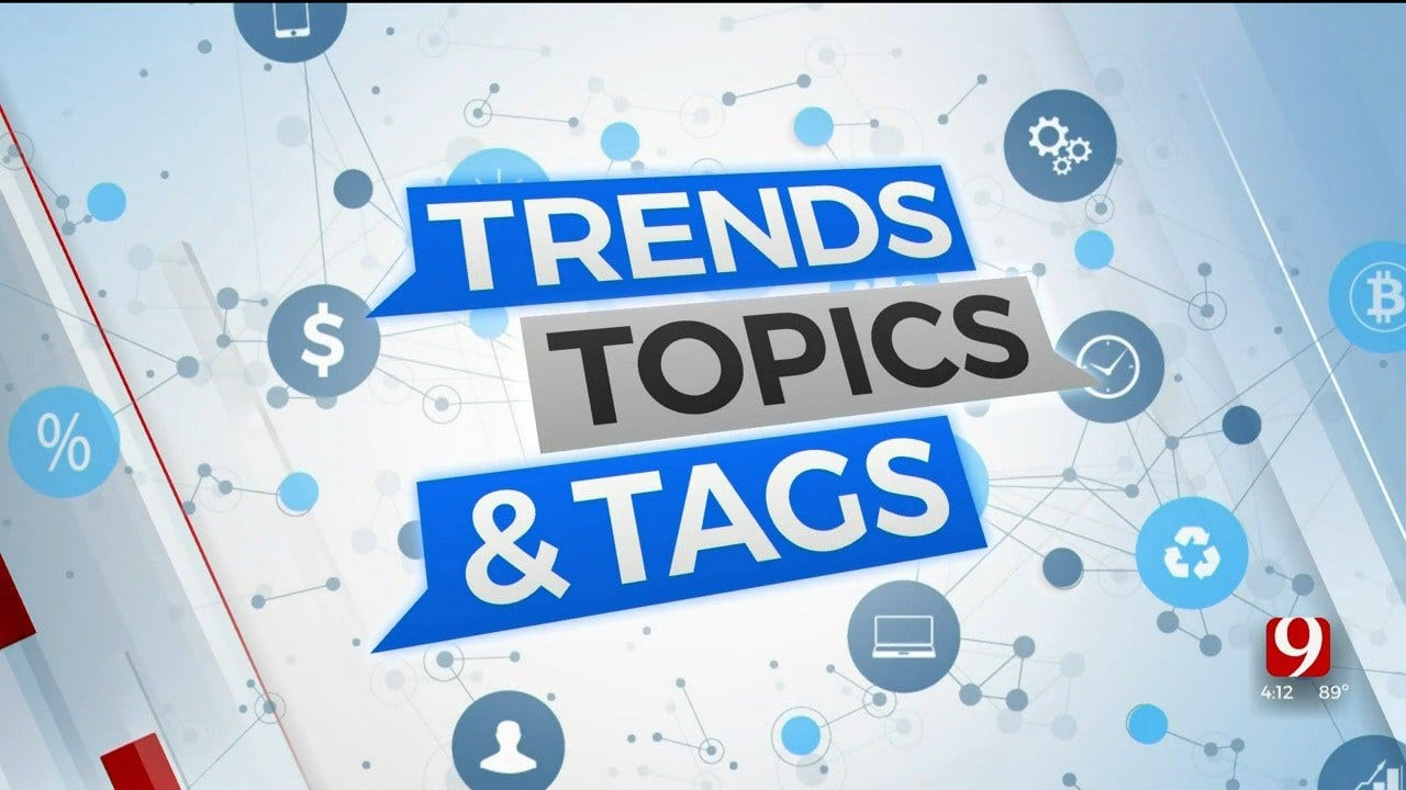 Trends, Topics & Tags: A Lip-Smacking Exchange