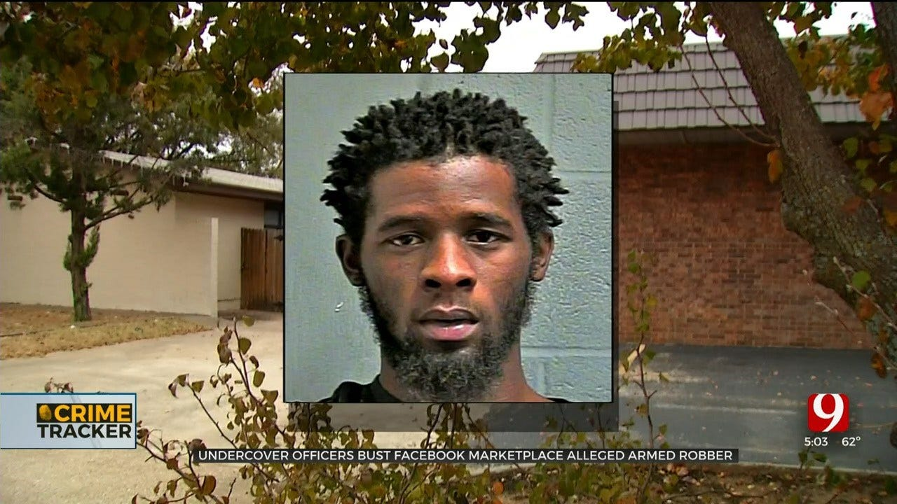 OKC Undercover Officers Bust Alleged Armed Robber Luring Victims Through Facebook Marketplace