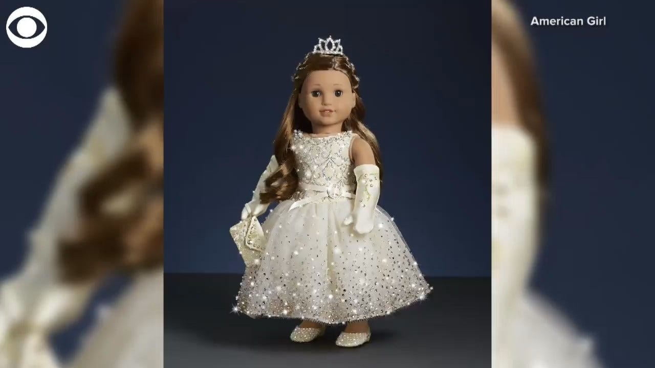 American Girl To Sell Holiday Doll, Covered In Swarovski Crystals, For $5,000
