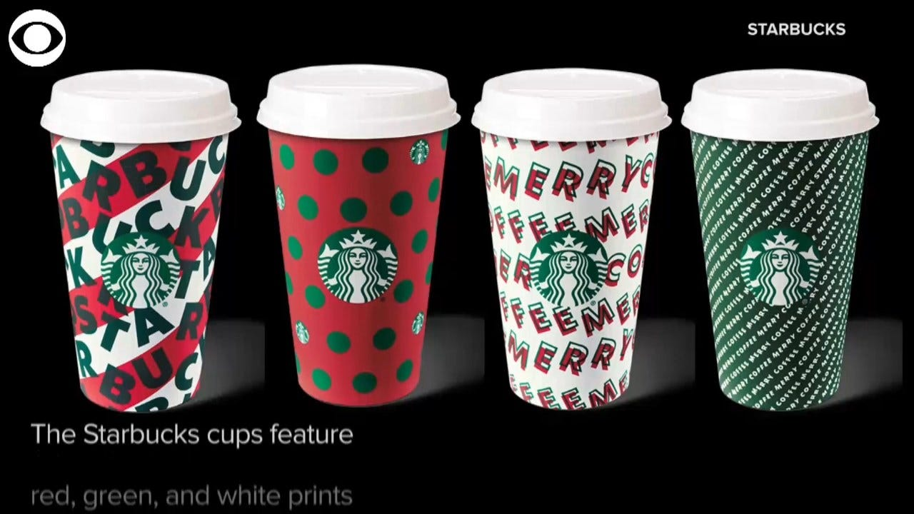 Starbucks, Dunkin' Release Annual Holiday Cups This Week