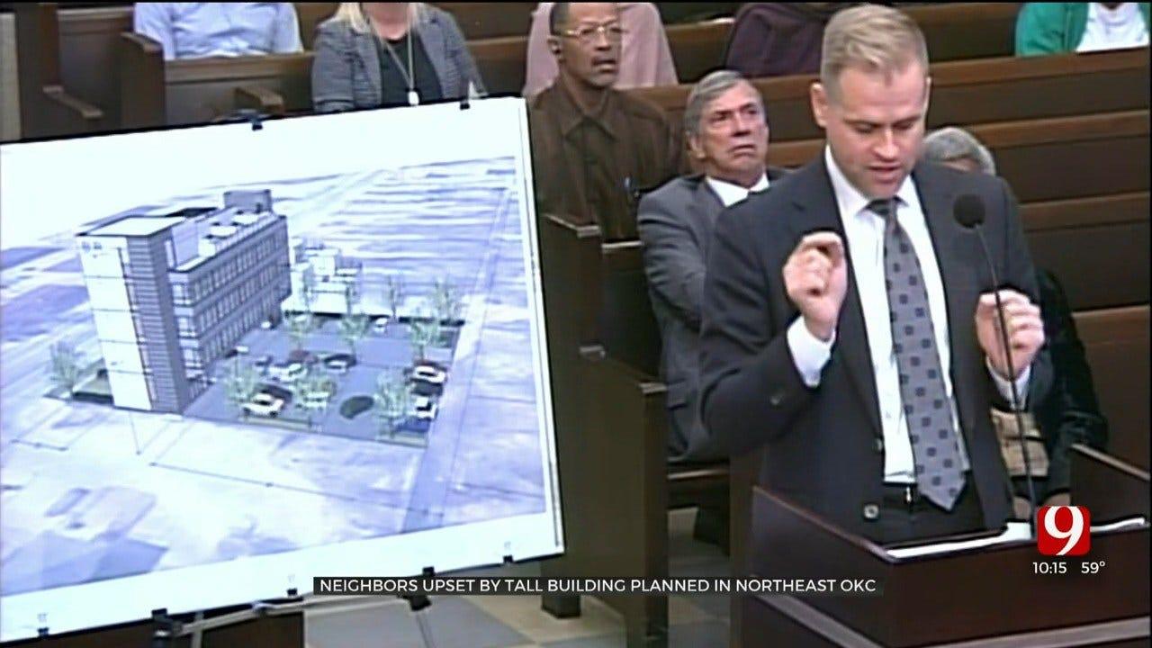 Neighbors Upset Over Office Building Construction Plans In NE OKC