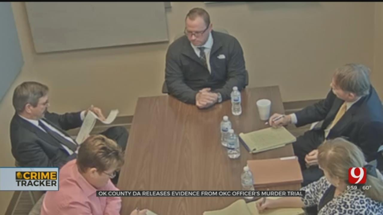 Oklahoma County DA Releases Evidence From OKC Police Sergeant's Murder Trial