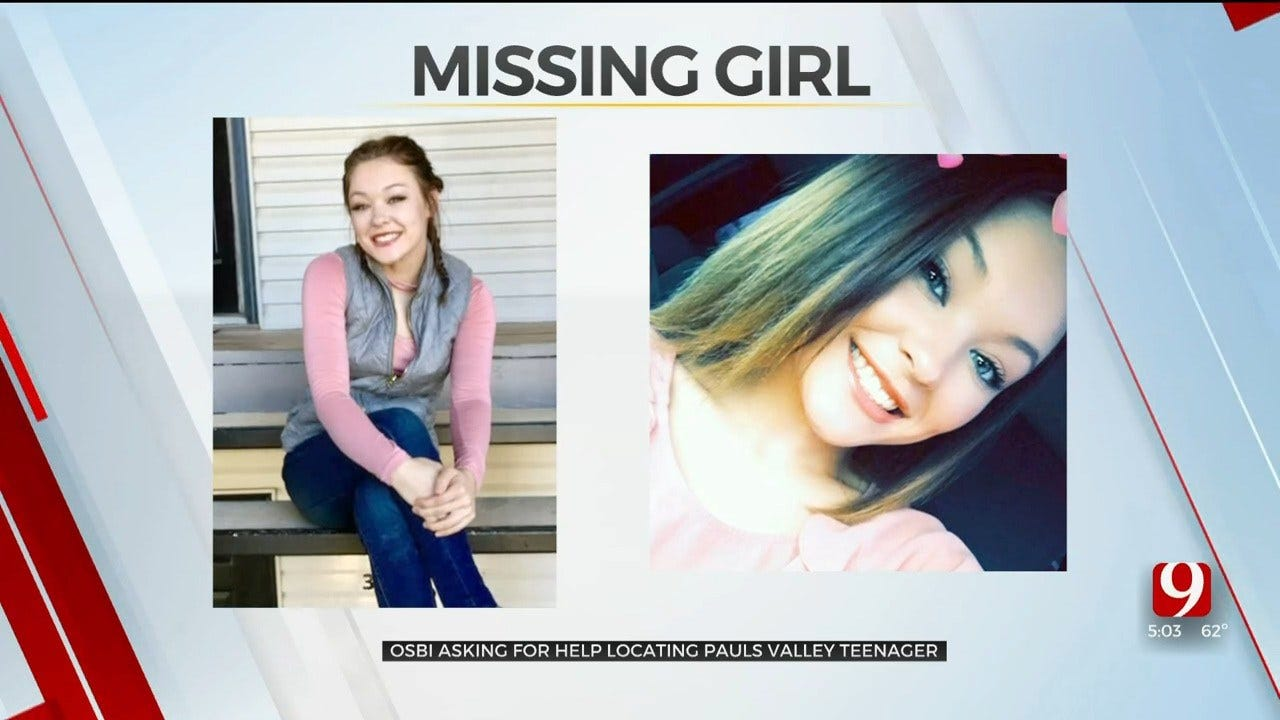 OSBI Asking For Public's Help In Locating Missing Pauls Valley Teen