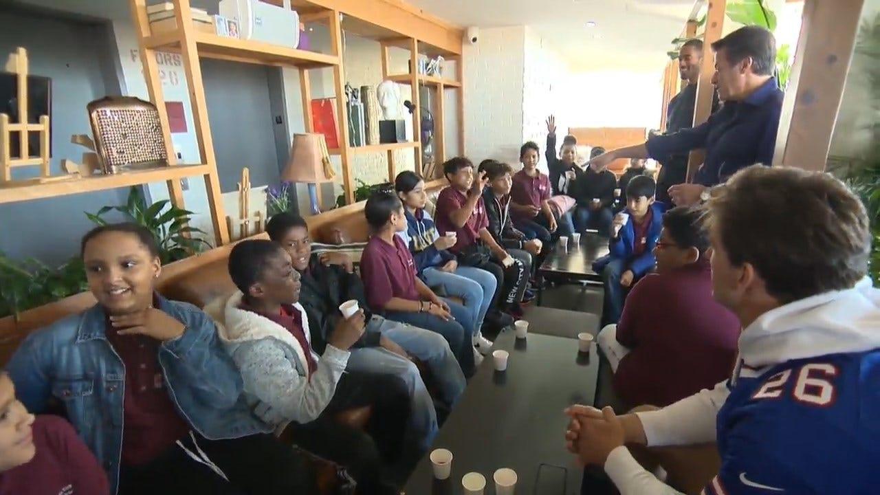 Program Opens Door To Food, Fitness Opportunities For Underprivileged Students