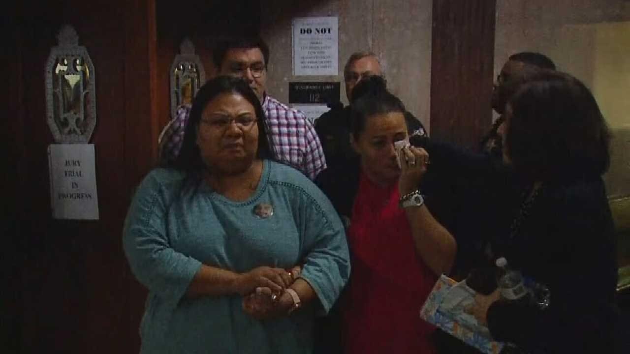Victim's Family Emotional, Defense Heartbroken As Jury Finds OKC Sergeant Guilty Of Second Degree Murder