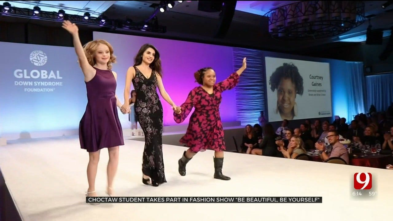 Choctaw Student With Down Syndrome Is First To Represent Oklahoma In Fashion Show