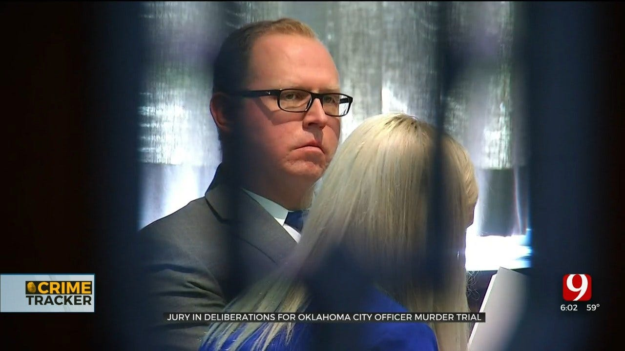 Jury Deliberating Fate Of OKC Police Sergeant On Trial For Murder