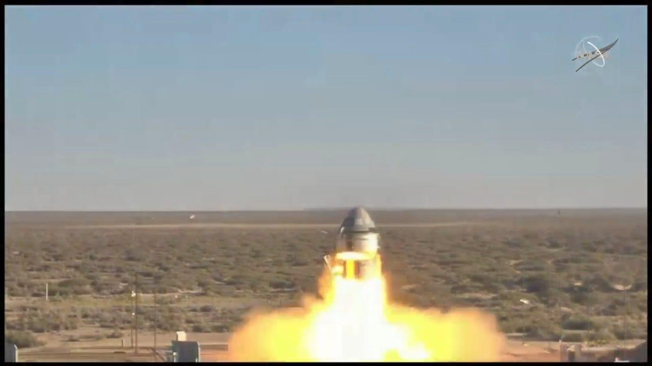 Boeing Starliner Capsule Blasts Off In Dramatic Abort Test