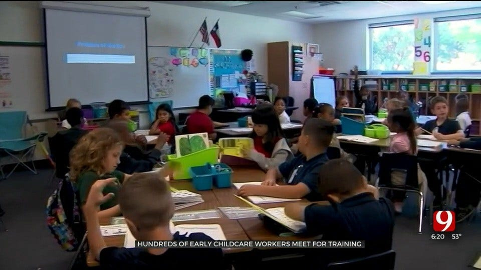 Hundreds Of Child Care Workers Attend Okla. Training Conferences