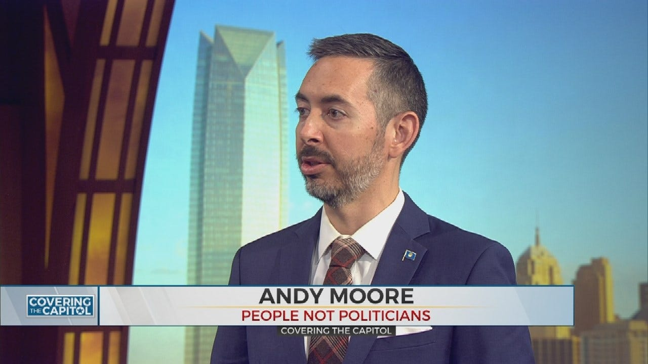 Covering The Capitol: 'People Not Politicians' Group Pushing For Redistricting In Oklahoma