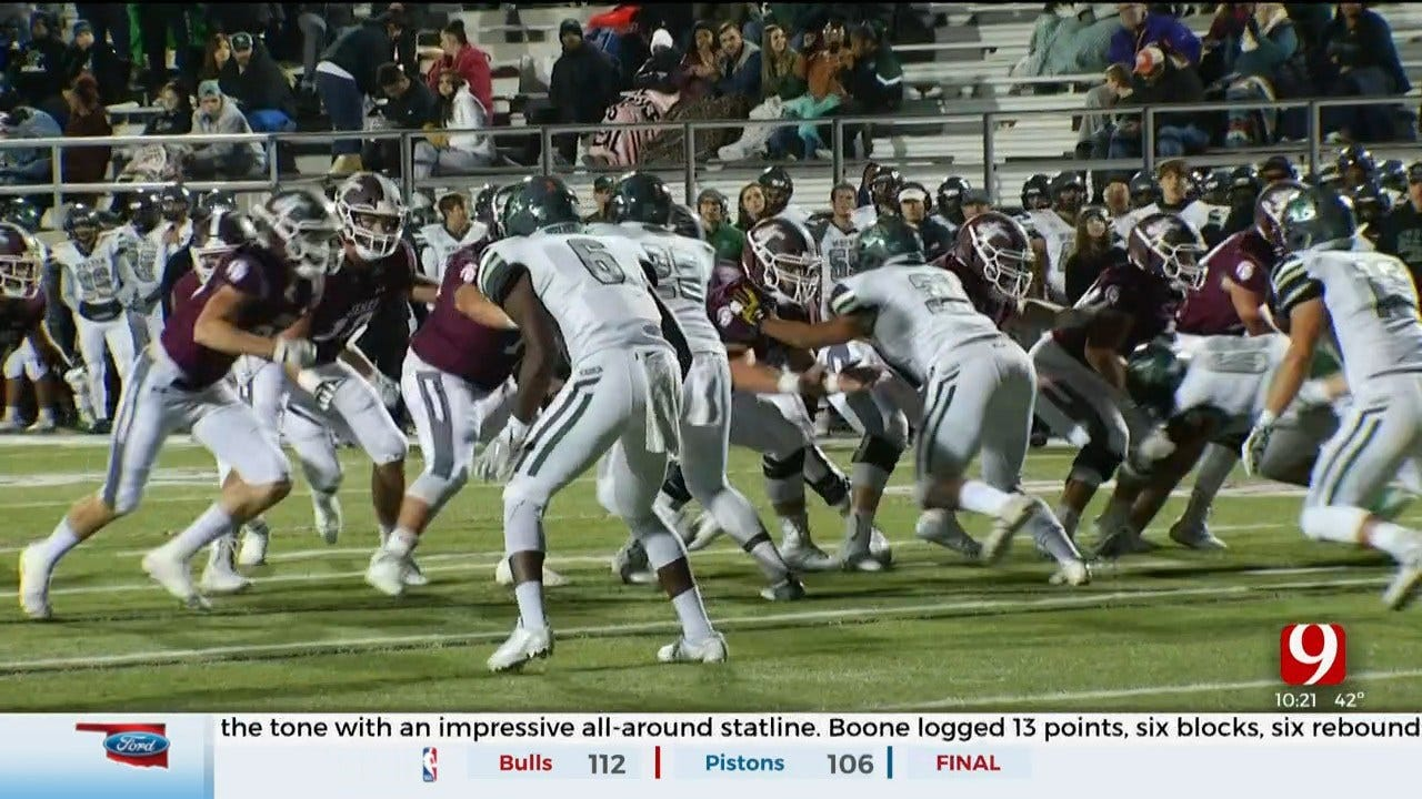 High School Football Roundup: Edmond Santa Fe Vs. Jenks