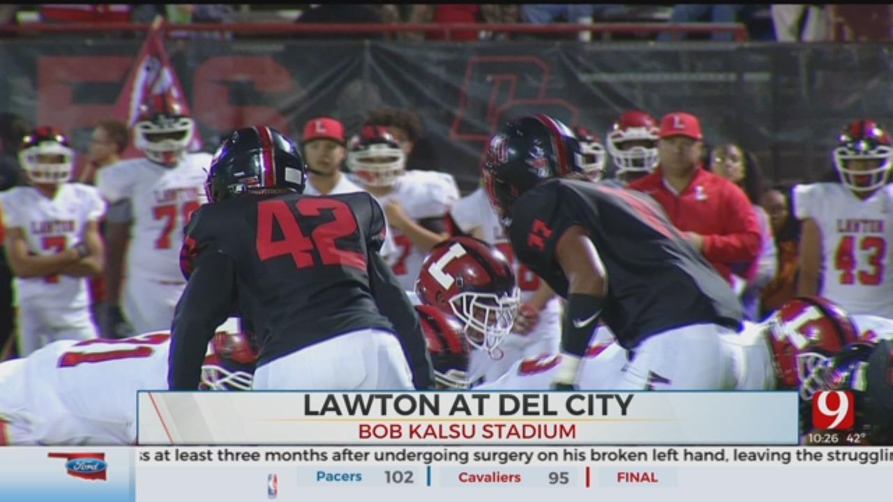 Del City Beats Lawton, 48-12