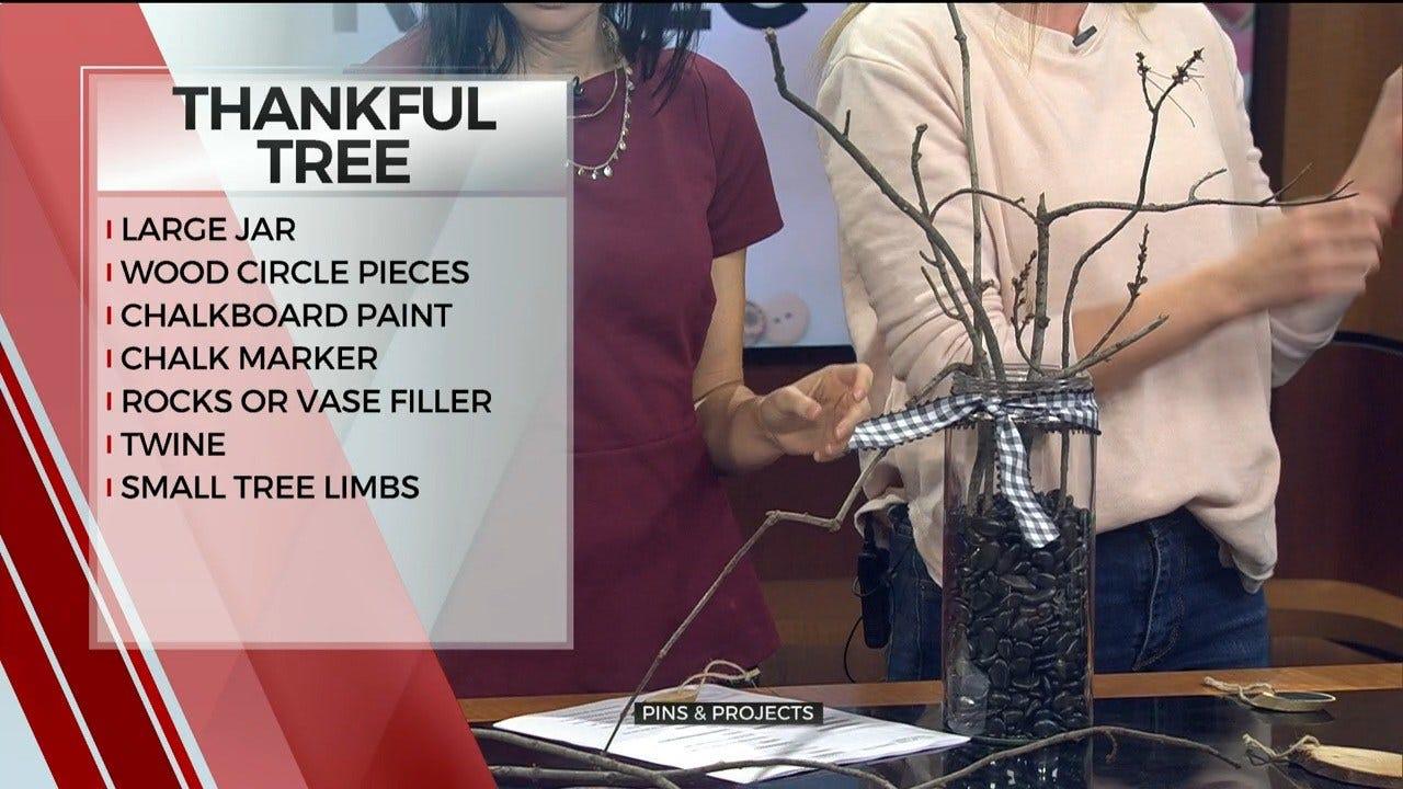 Pins & Projects: Thankful Tree