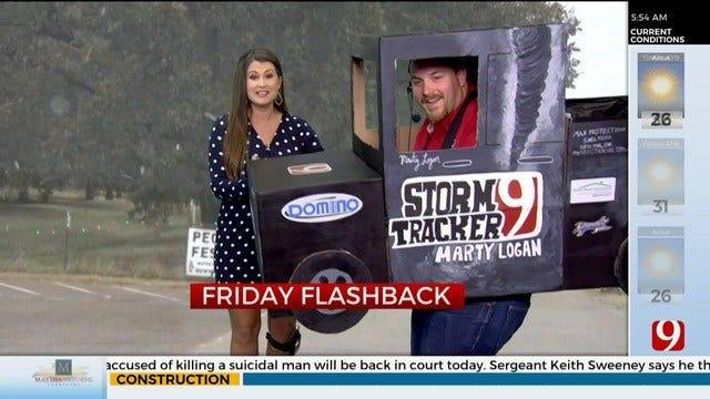 Friday Flashback: Cold Weather, Halloween Shenanigans