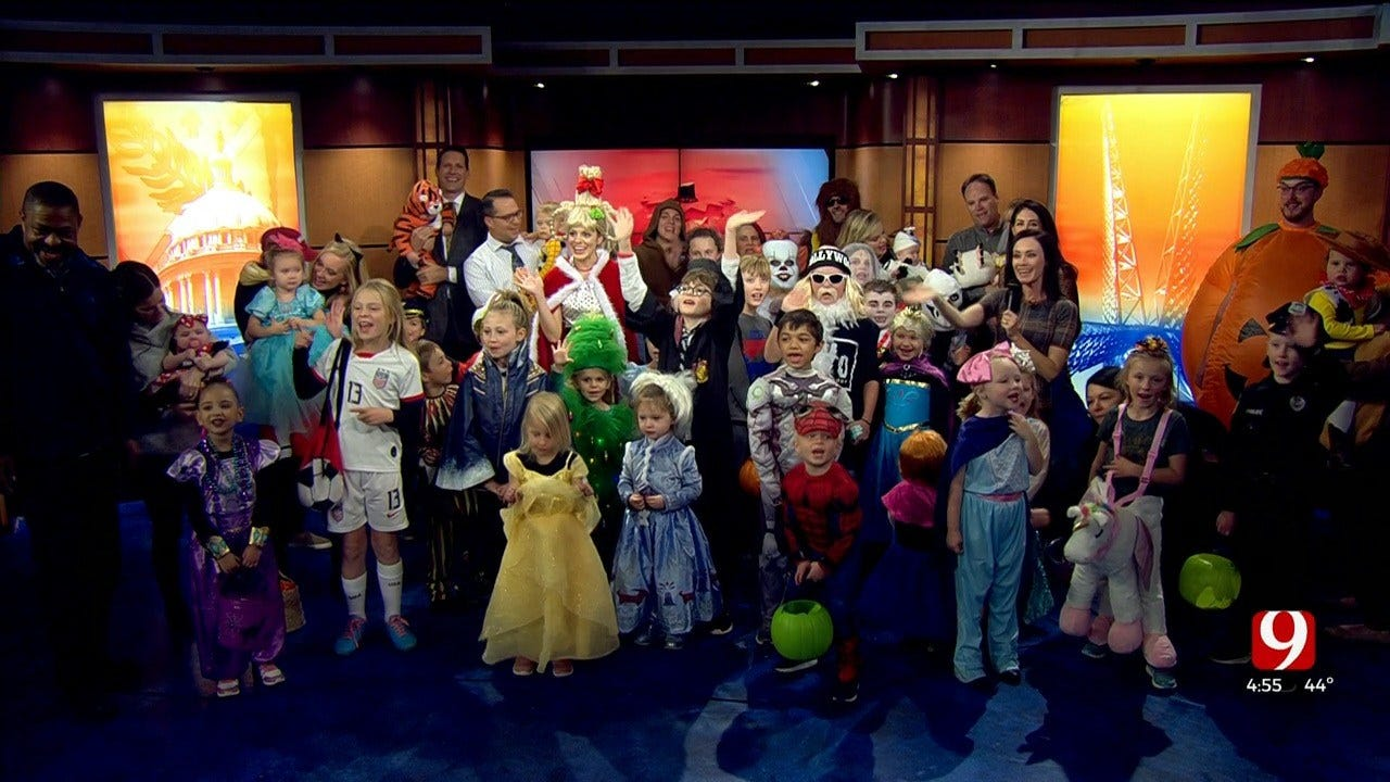 News 9 Celebrates Halloween With Their Kids