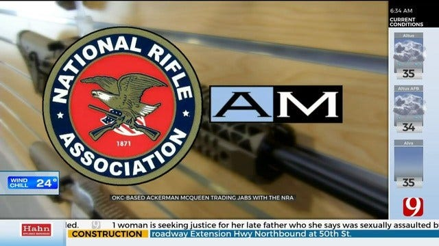 NRA Alleges OKC Ad Firm's NRATV Content Was 'Distasteful, Racist'
