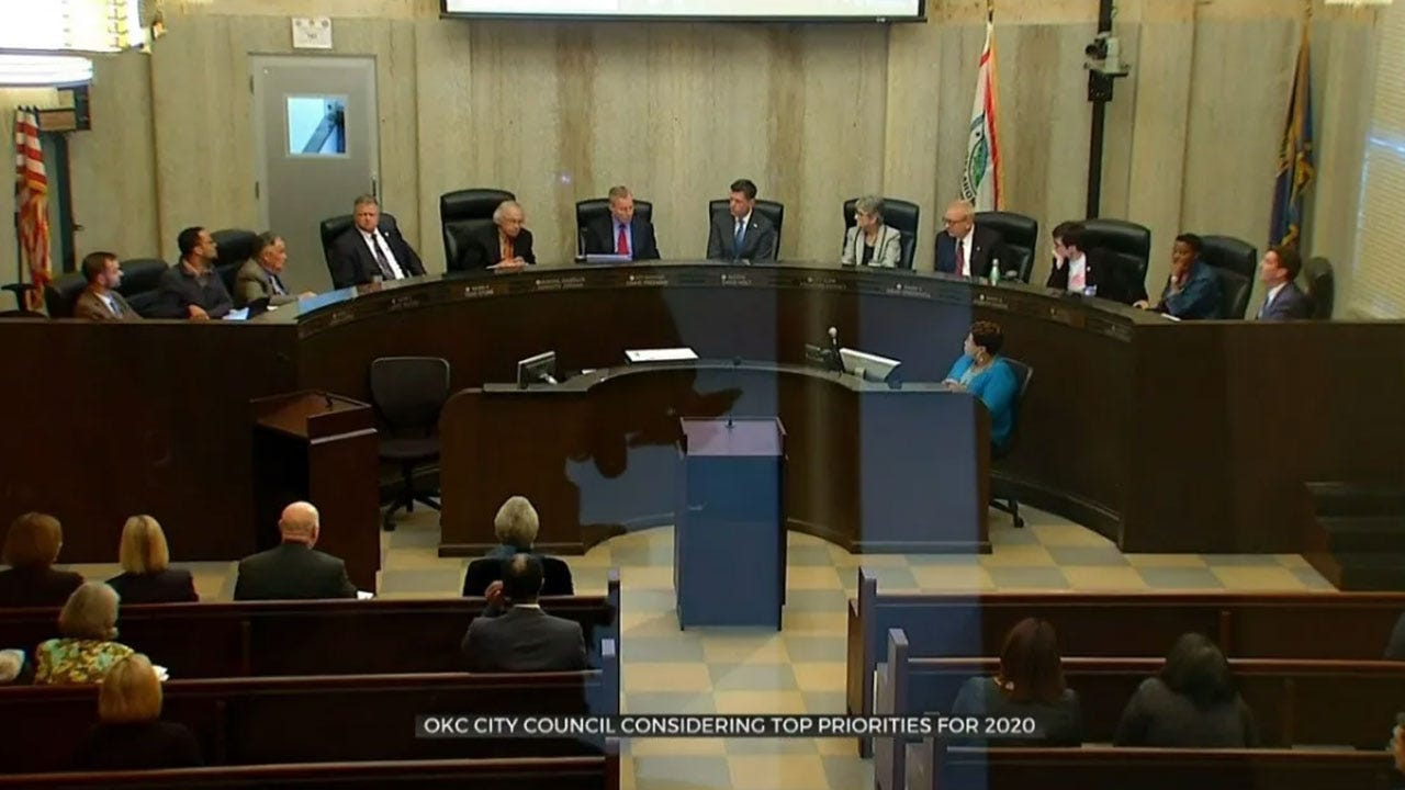OKC City Council Considering Top Priorities For 2020