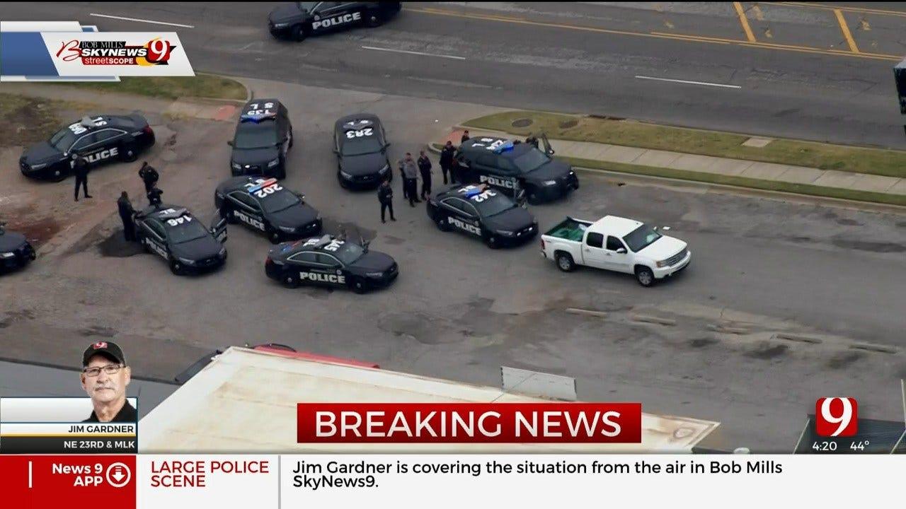 Police Involved In Standoff In NE OKC