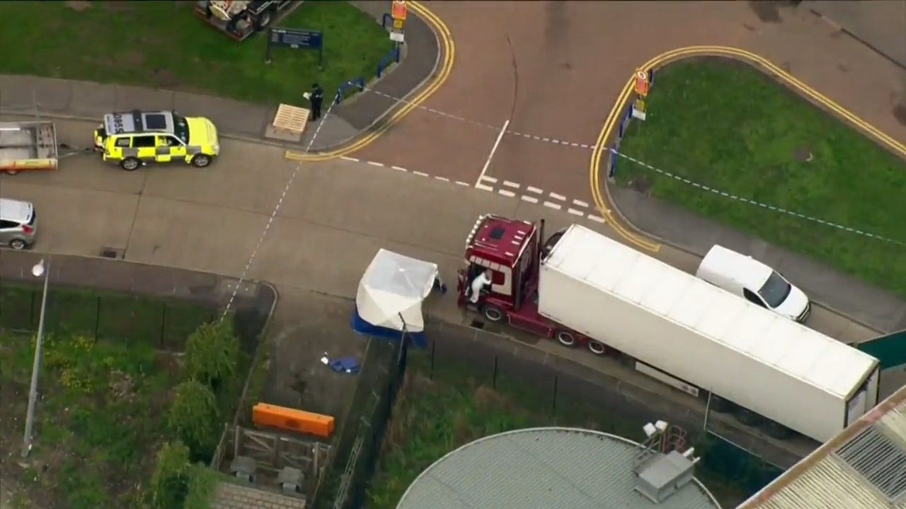 Driver Appears Before UK Judge After 39 Bodies Found In Truck