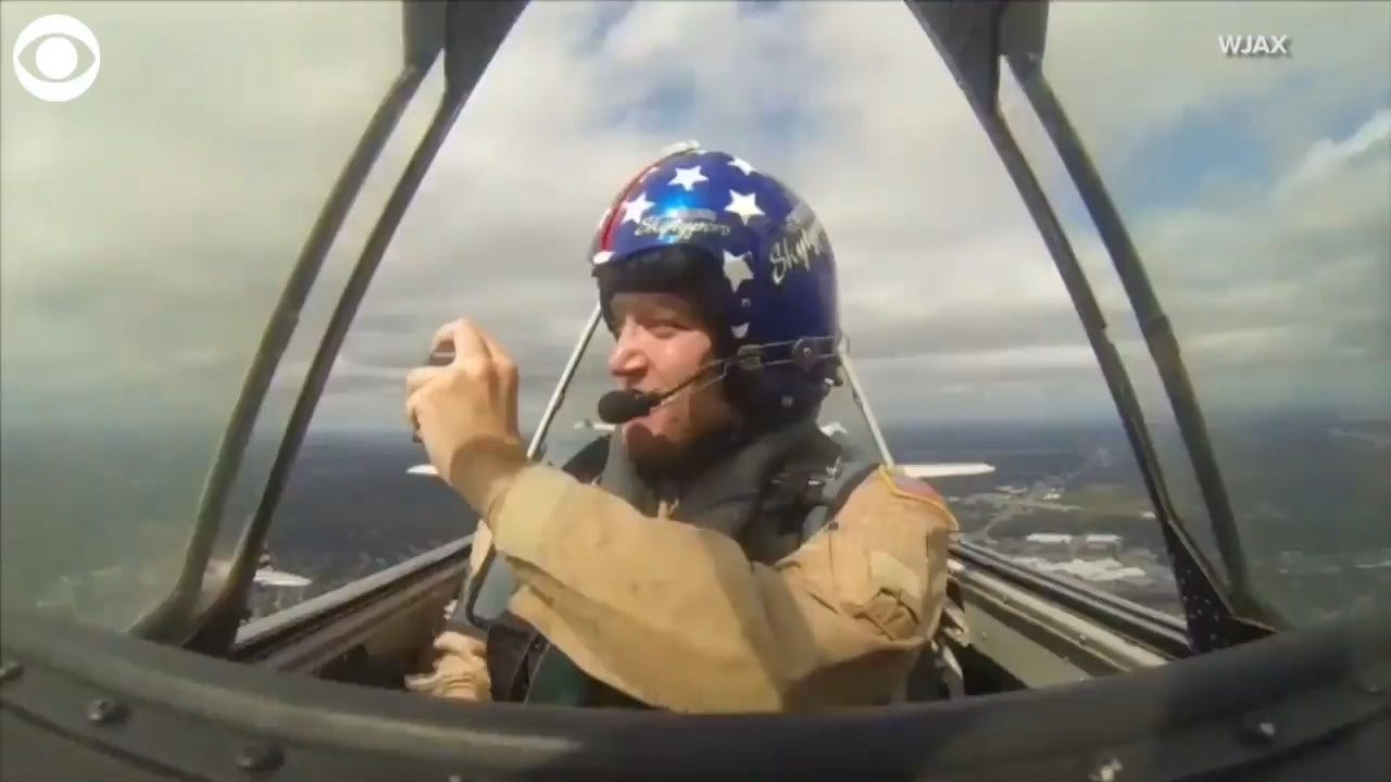 OOPS! Phone Gets Sucked Out Of Plane