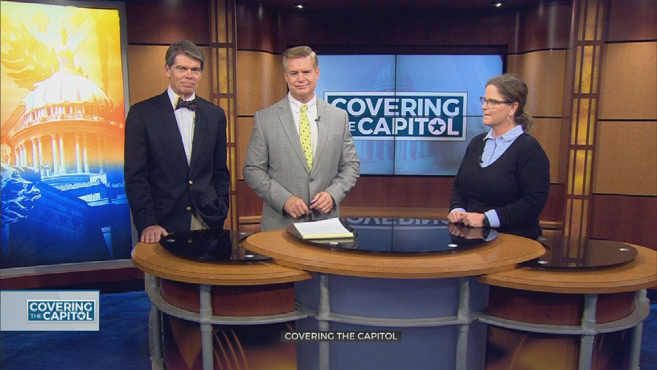 Covering The Capitol: Medicaid Expansion And State Question 802