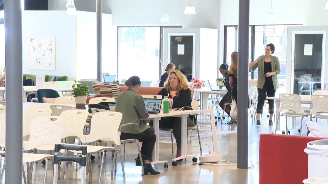 Shared Work Space Companies Offer Areas For Women