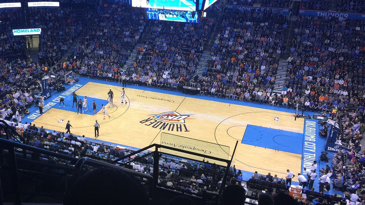Thunder Play The Wizards In Home Opener