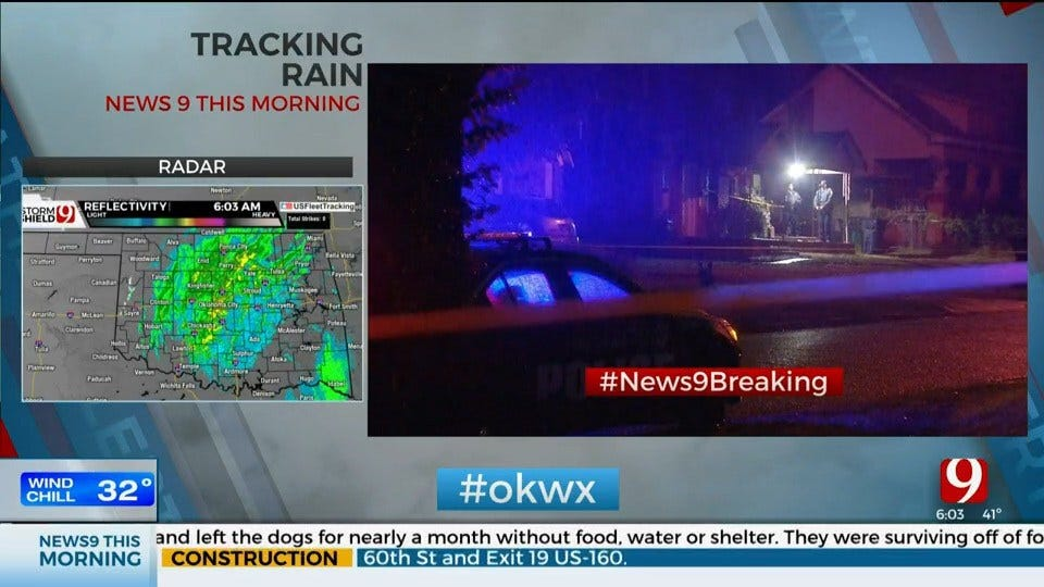1 Dead, 3 Injured In Shooting At NW OKC Home, Police Say