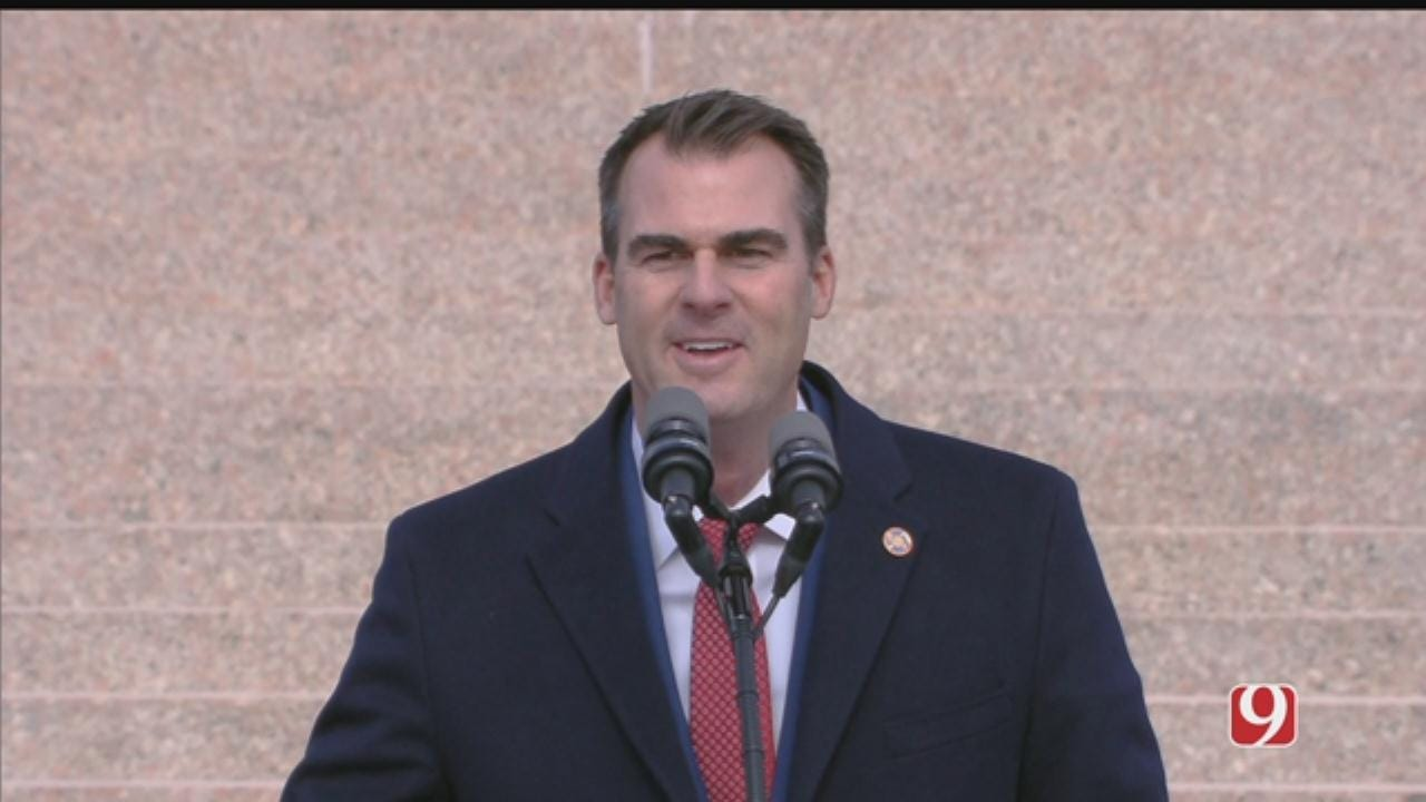 Governor Stitt Takes Top 10 Cabinet Tour To Lawton