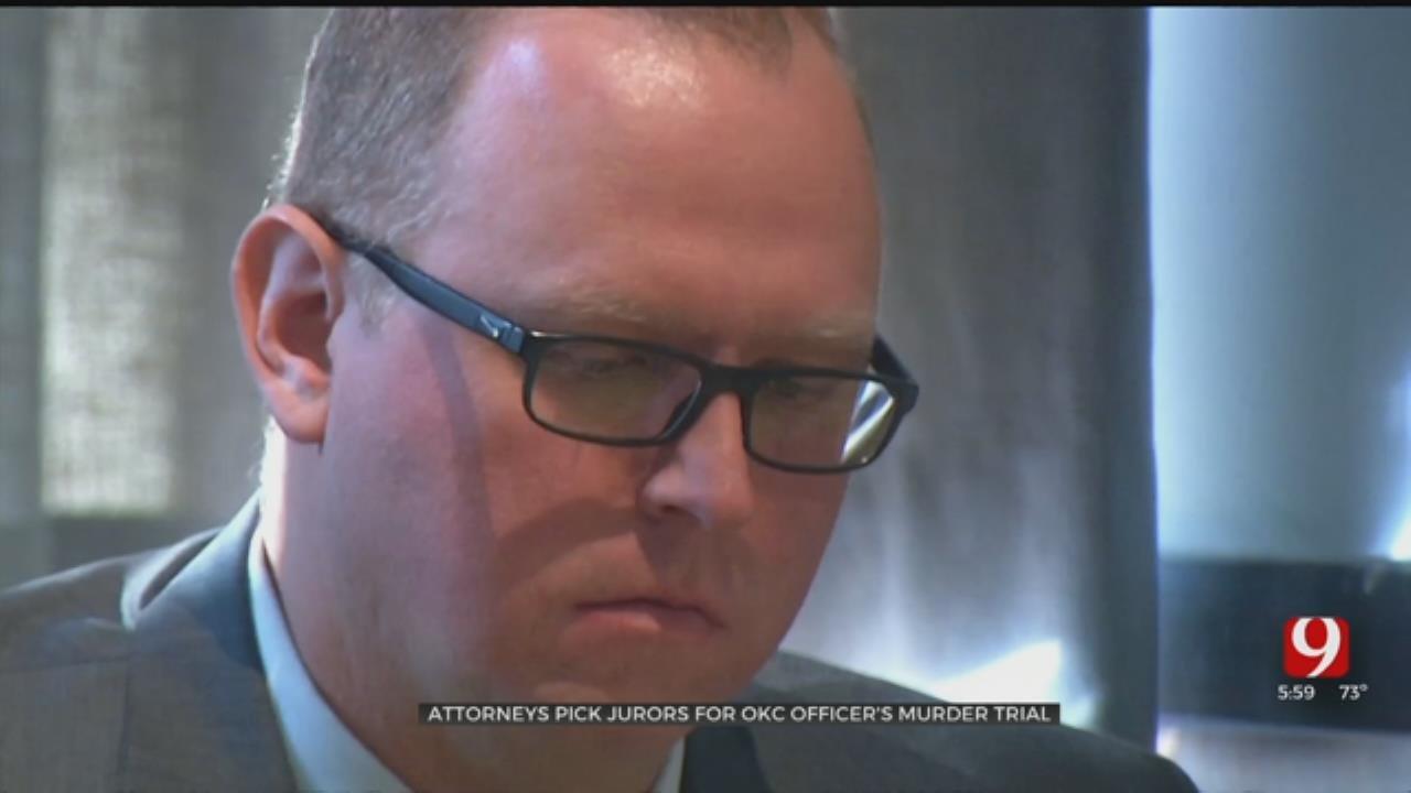 Attorneys Select Jury, 2 Alternates For OKC Officer's Murder Trial