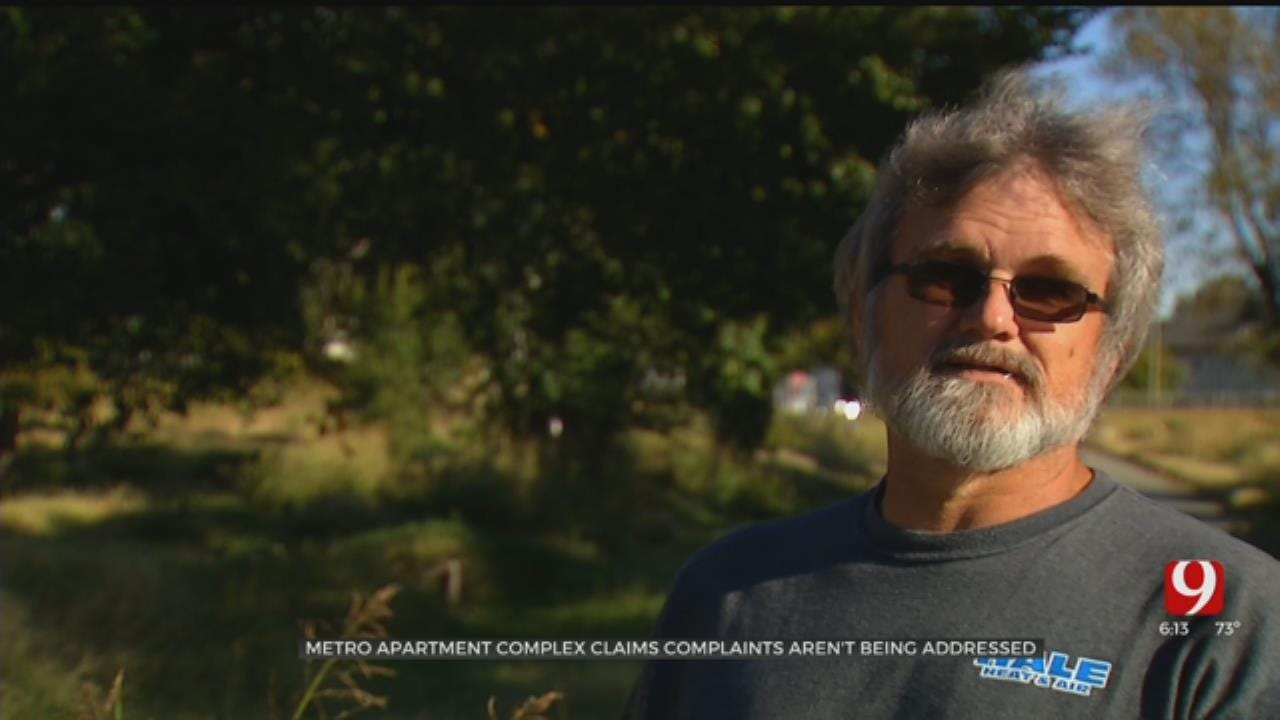 OKC Apartment Complex Growing Tired Of Neglected Neighboring Property, Claims City Not Addressing Complaints