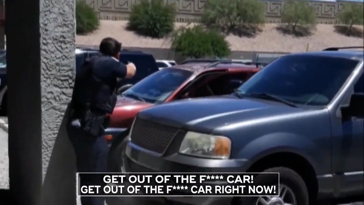 Phoenix Police Officer Pulls Gun On Family Of 4-Year-Old Shoplifter