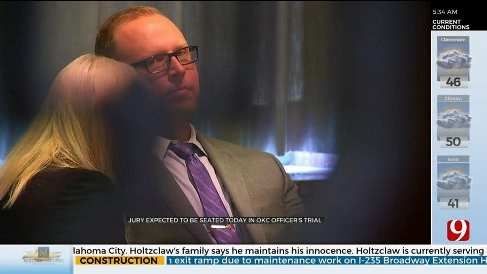Jury Expected To Be Seated In Trial Of OCPD Officer Accused Of Second Degree Murder