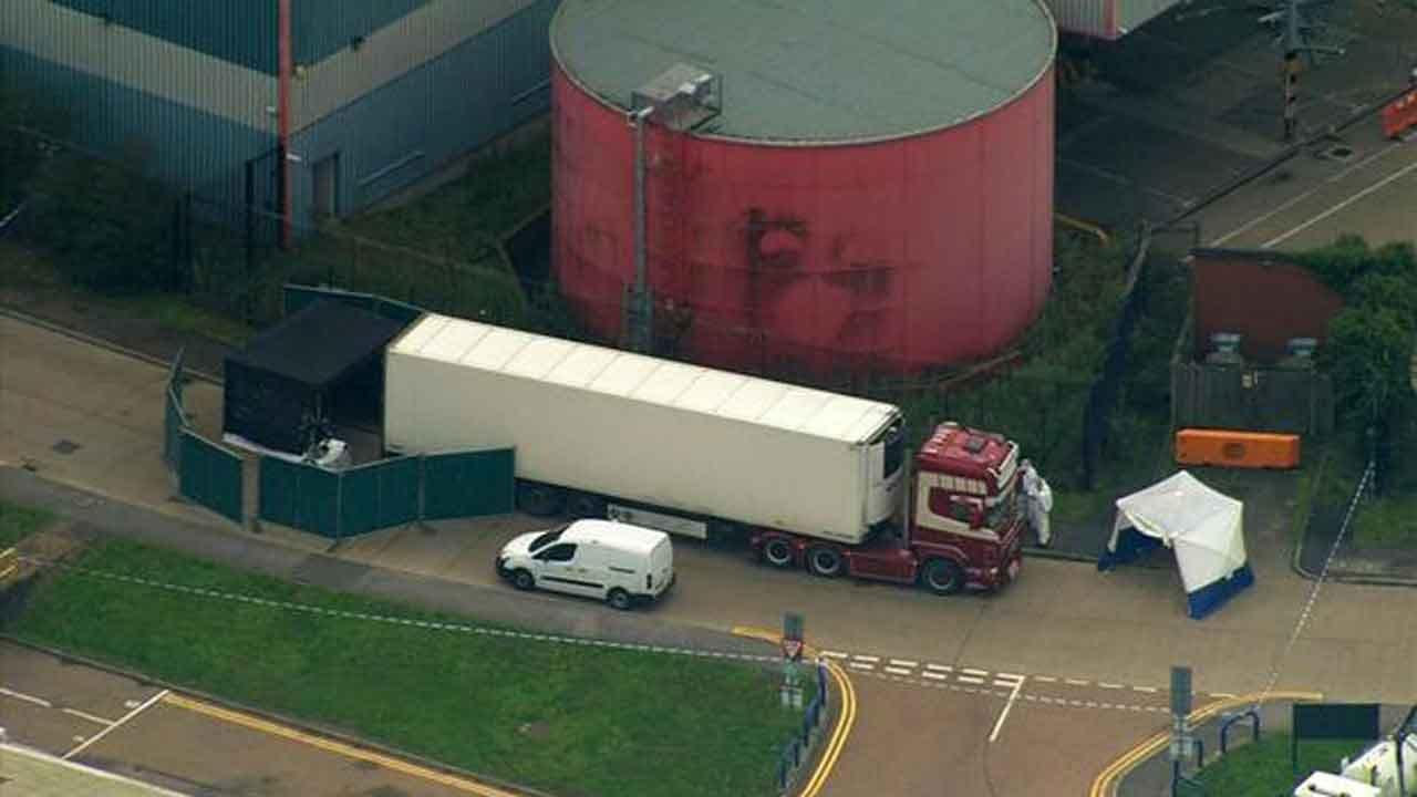 U.K. Police Launch Murder Probe After 39 Bodies Found In Truck