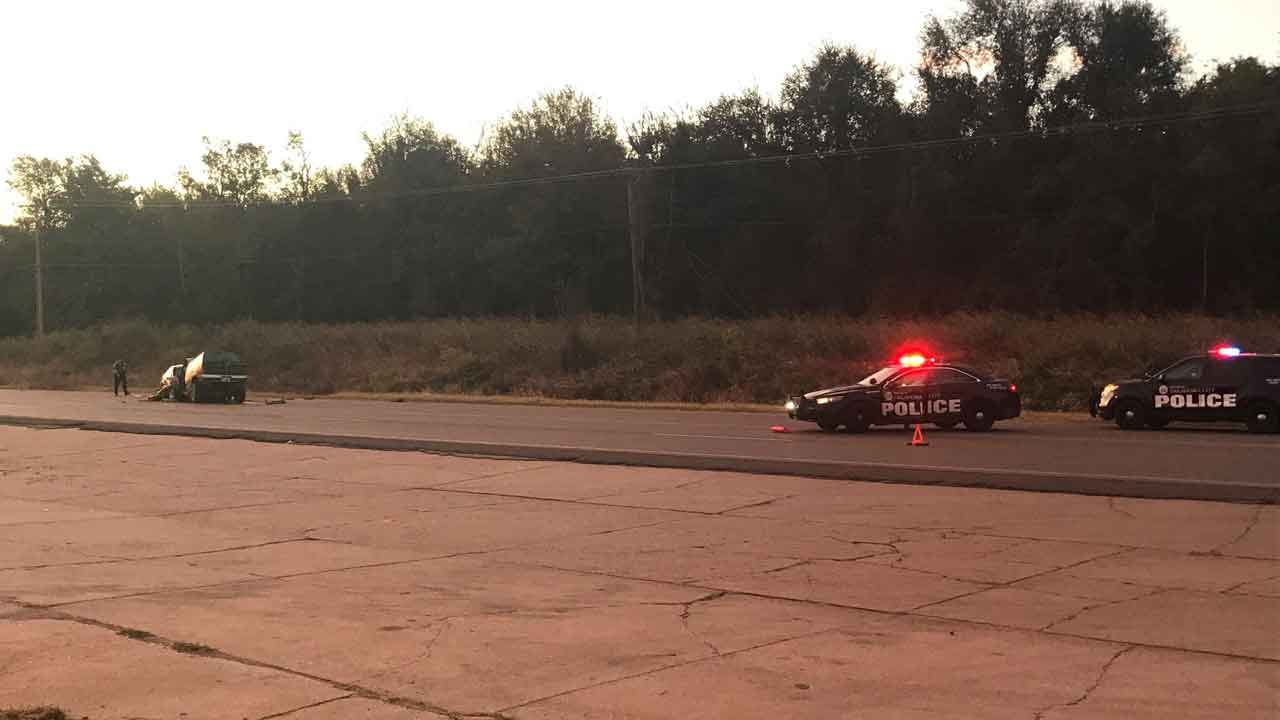 Crews Respond To Fatal Head-On Collision In NE OKC