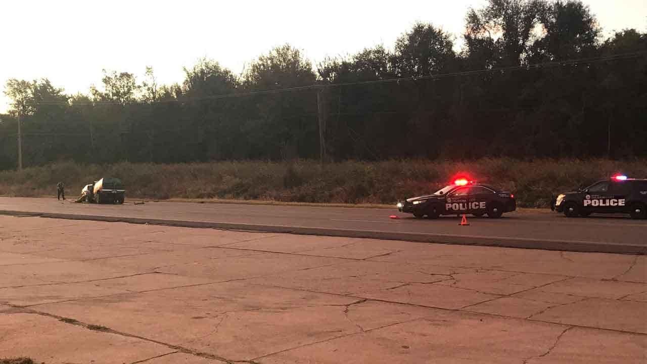 Crews Respond To Fatal Head-On Collision In NE OKC