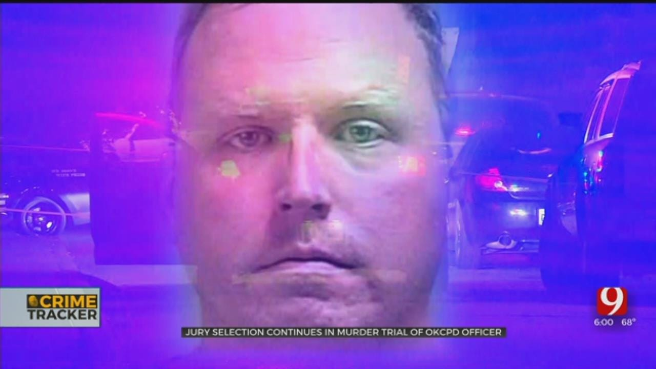 Attorneys Spend Day Questioning Potential Jurors In OKC Officer's Murder Trial