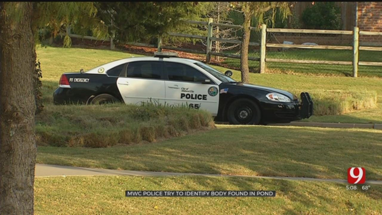 Midwest City Police Working To Identify Body Pulled From Pond