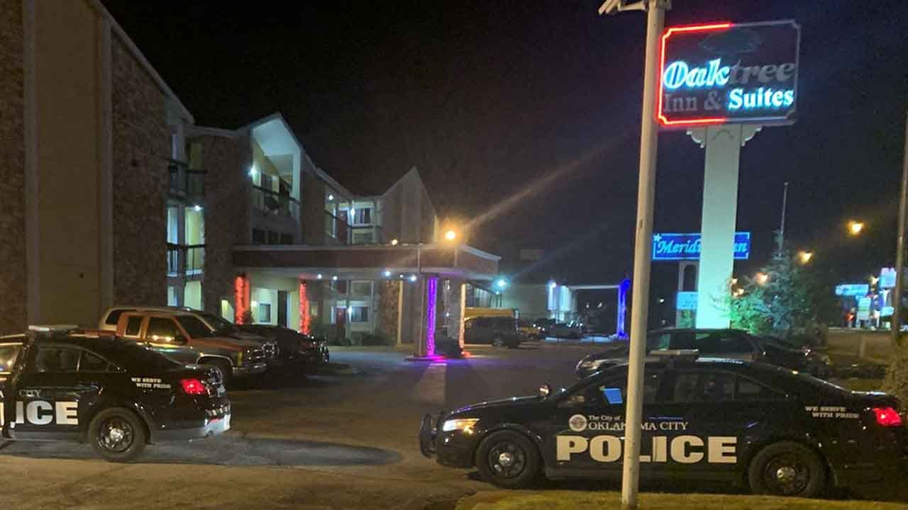 OKC Police: Woman Stabbed At Motel; Possible Suspect In Custody