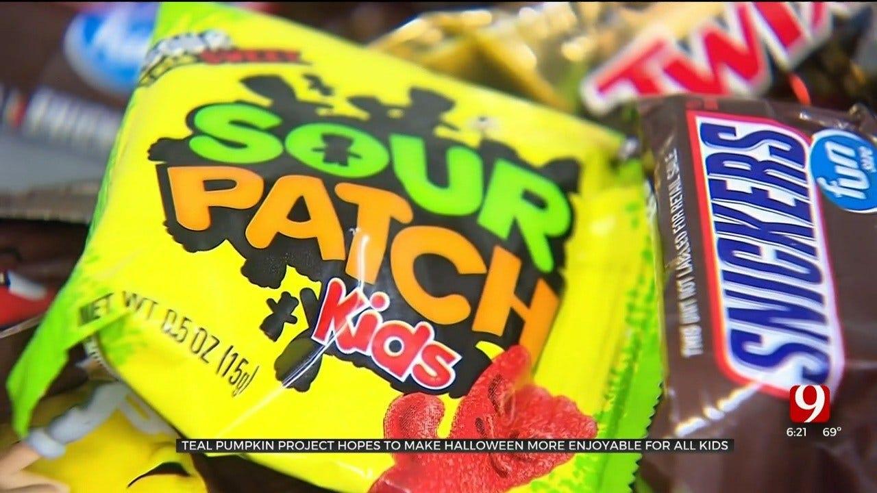 Teal Pumpkin Project Encourages Alternative Halloween Treats