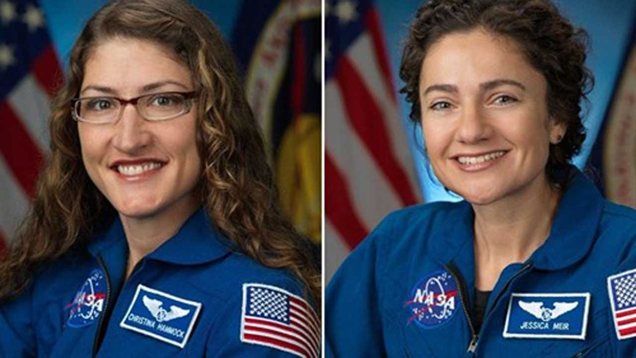 All-Female Spacewalk Marks A New Milestone For NASA