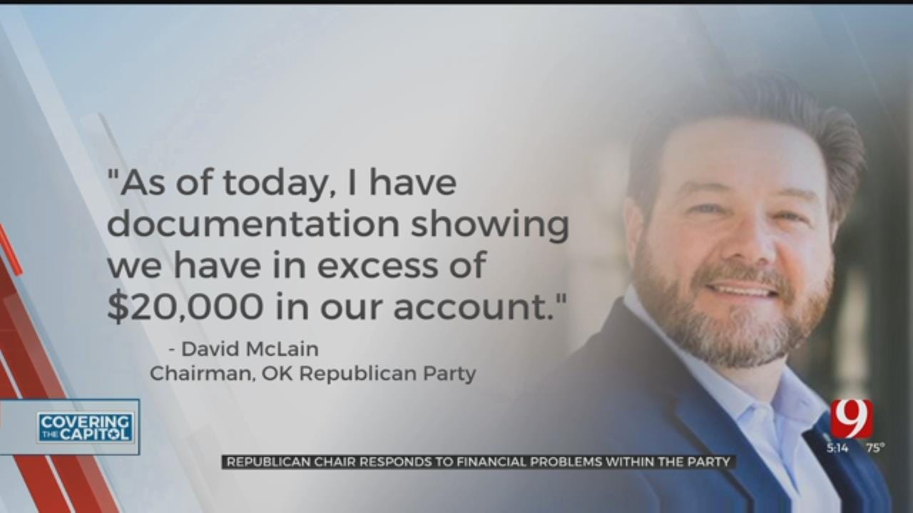 Oklahoma Republican Chair Responds To Financial Problems Within Party