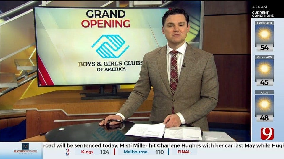 The Boys And Girls Club Of Oklahoma To Hold Ribbon Cutting For New Teen Center