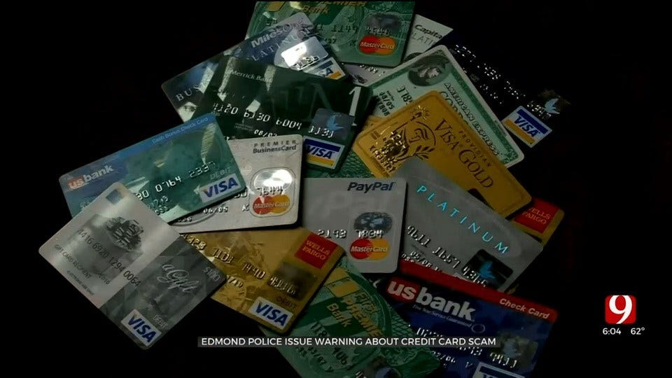 Edmond Police Issue Credit Card Scam Warning